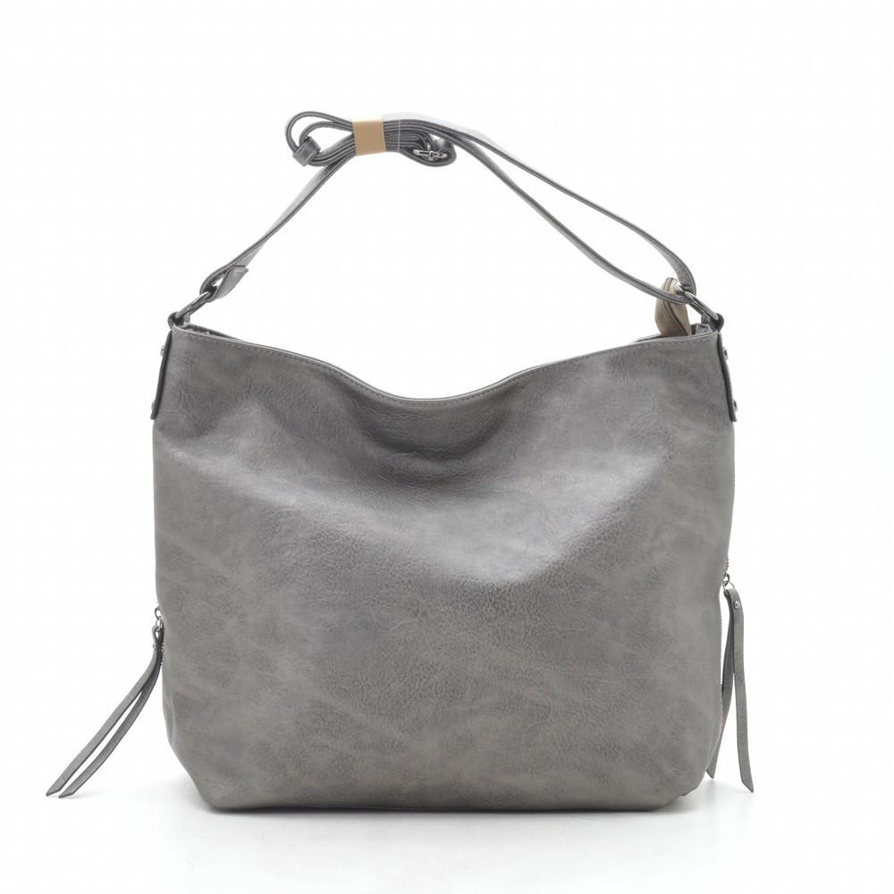 Женская сумка серая 191801