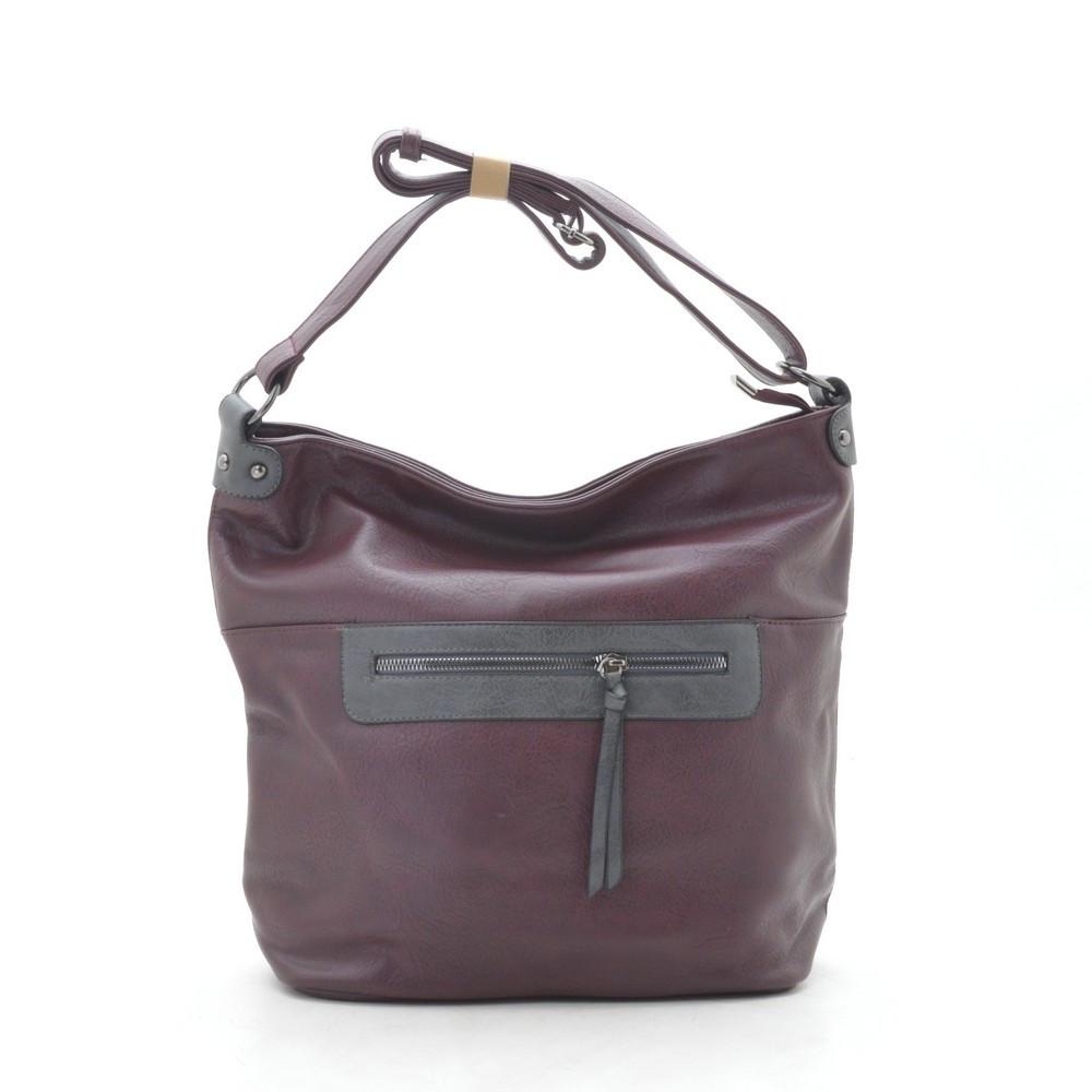 Женская сумка красная 191807