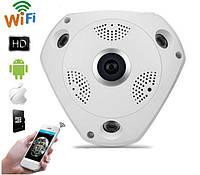 Камера потолочная CAMERA CAD 1317 VR 1.3mp\360*\dvr\ip, День/ночь, внутренняя/уличная, H.264, ИК фильтр, PoE, слот для карты памяти, камера для