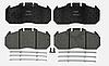 Тормозные колодки к-кт Renault Magnum, Premium (TRV) - GDB5086