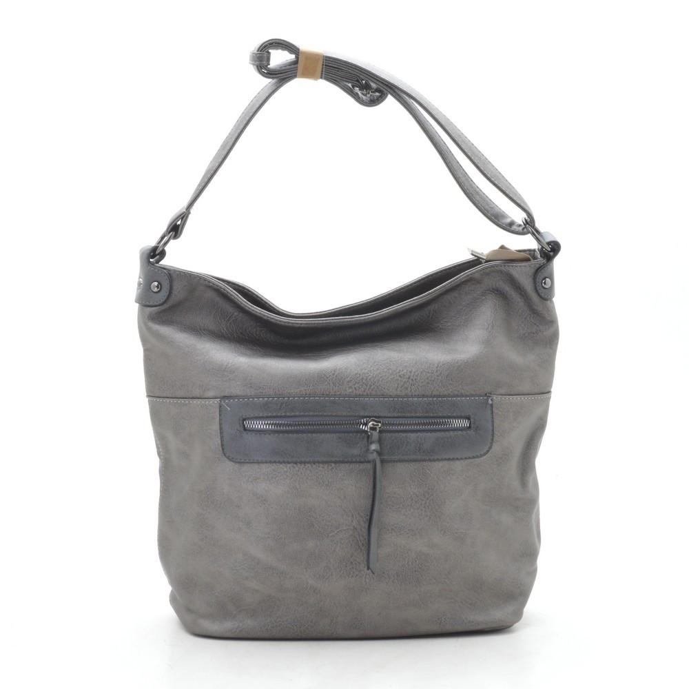Женская сумка серая 191809