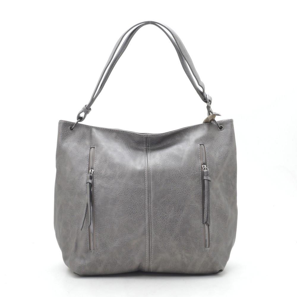 Женская сумка серая 192120
