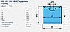 Стакан подушки 4881MB 247x142,5 - 045.803-00