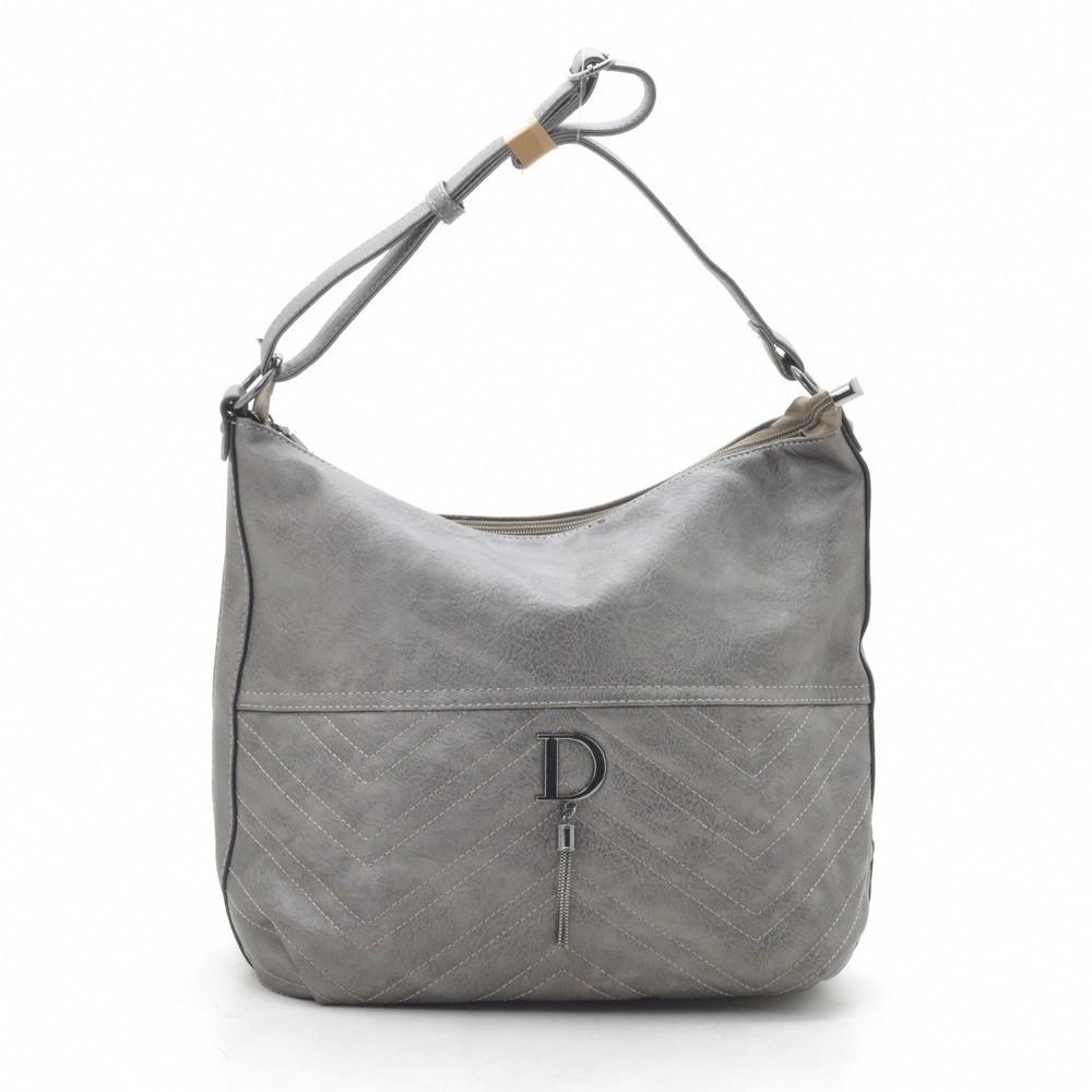 Женская сумка серая 192128