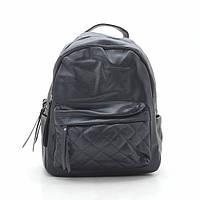 Рюкзак женский черный, мягкий кожзам 192368, фото 1