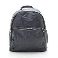 Рюкзак женский черный, мягкий кожзам 192454, фото 1
