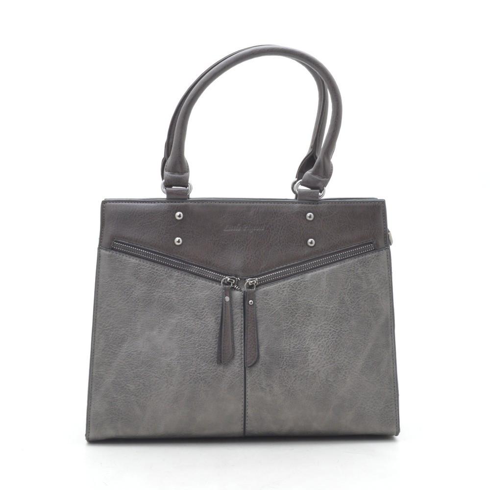 Женская сумка серая 190787