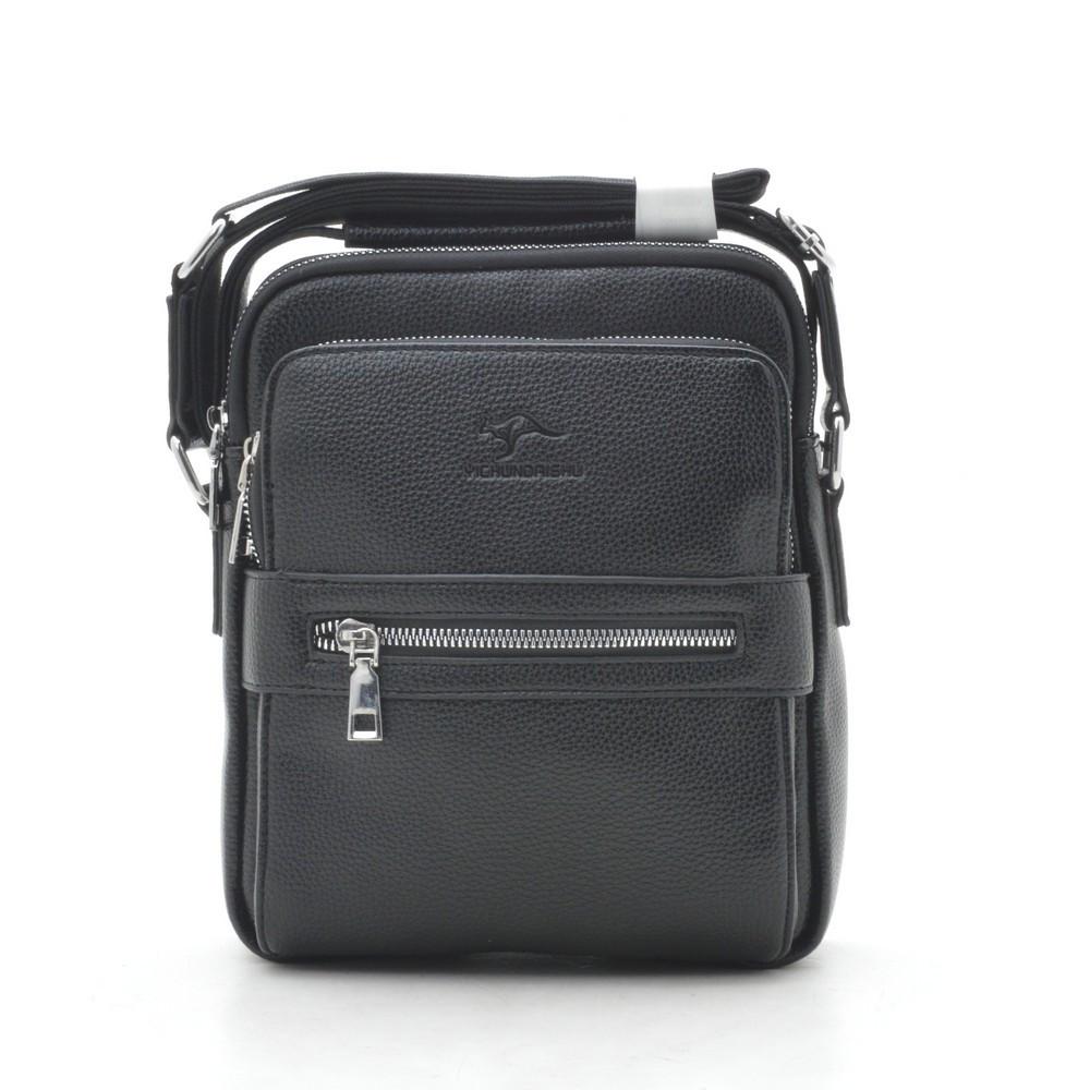 Мужская сумка черная через плечо 186385