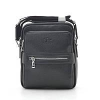 Мужская сумка черная через плечо 186385, фото 1
