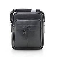Мужская сумка черная через плечо 186394, фото 1
