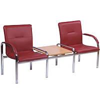 Мягкое кресло на 2 места + столик Стафф 2Т (STAFF 2 Т), фото 1