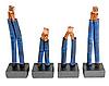 Щетки стартера D13HP VALEO VAL594286