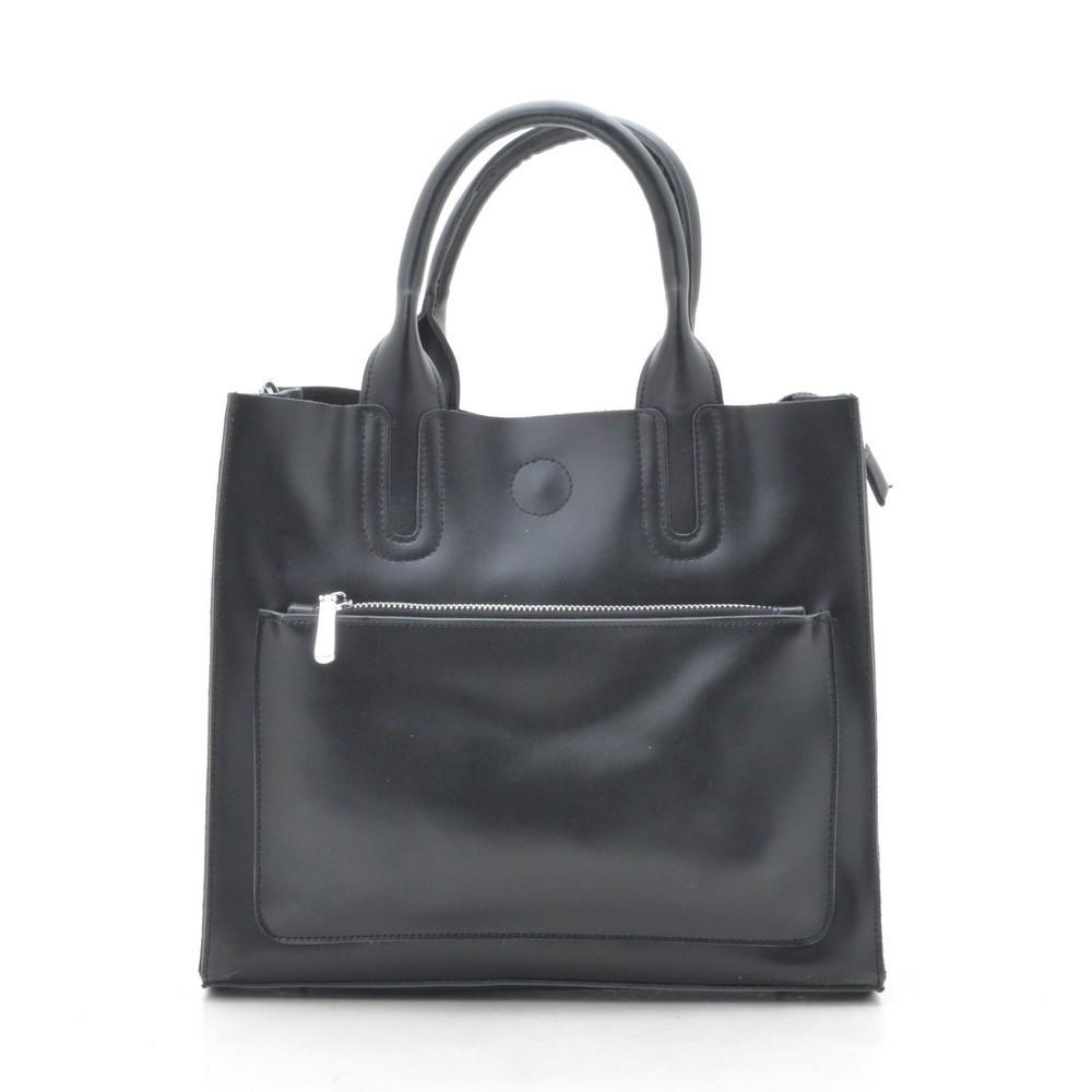 Женская сумка кожаная черная 188157