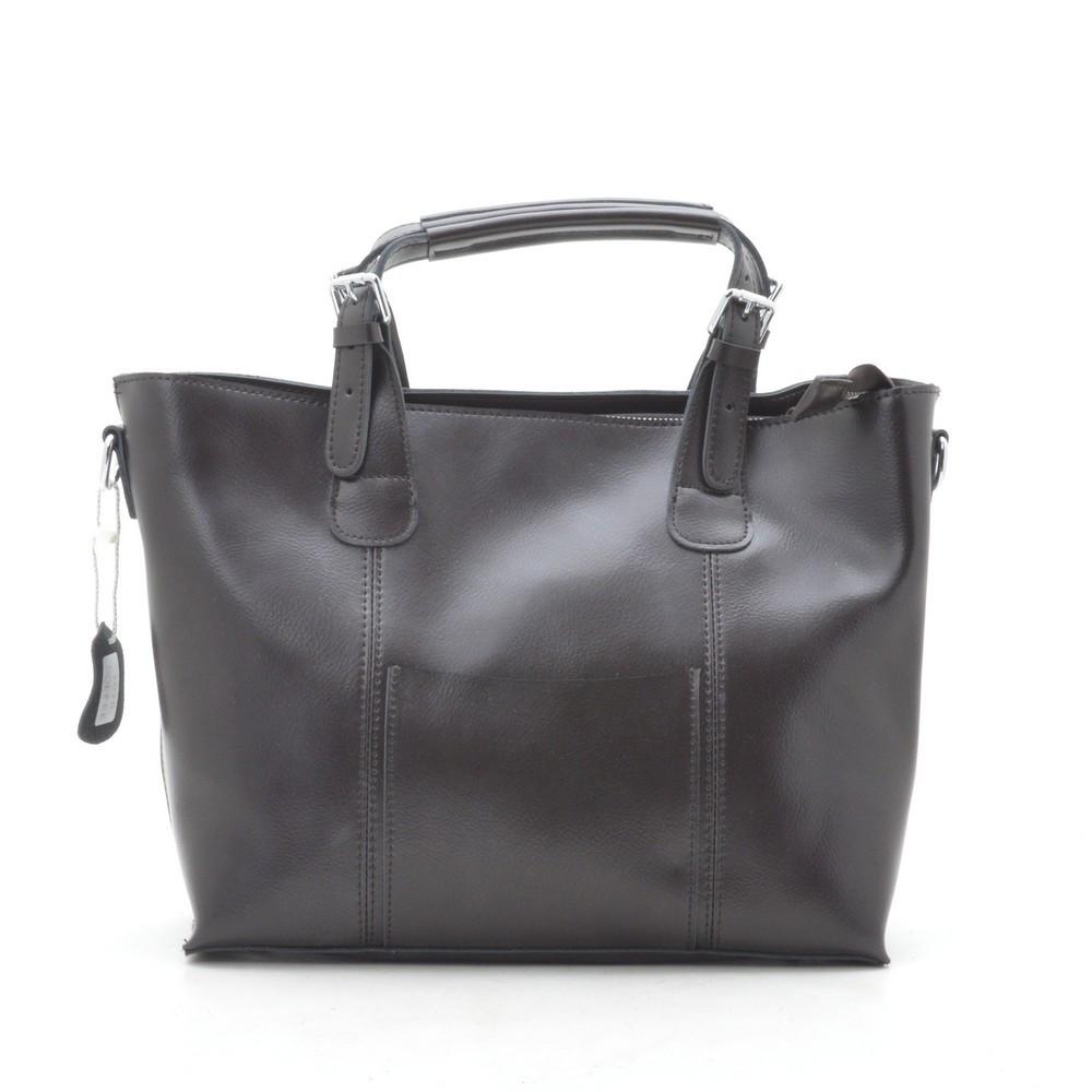 Женская сумка кожаная кофейная 188284