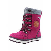 Розовые ботинки Freddo для девочки размеры 20;22;24;25;26;27;28;29;36;37;38 зима девочка TM Reima 569360-3600
