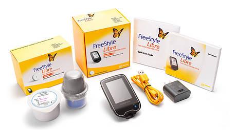 Сенсор и неинвазивный глюкометр Freestyle Libre США, фото 2