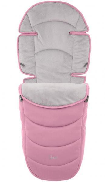 Конверт зимовий на коляску Quaіl Strictly Pink