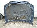 Капот Mazda 323 BJ 2000-2002г.в.синий рестайл , фото 3