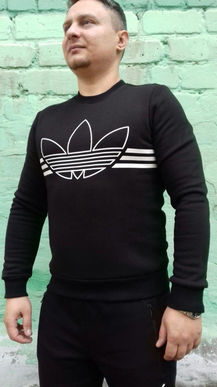 Свитшот мужской Adidas серая