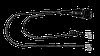 Датчик износа тормозных колодик L=355,( к-т 2шт ) - HCK-106.355