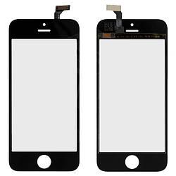 Сенсорный экран (touchscreen, тачскрин) для iPhone 5, Сopy, черный, оригинал