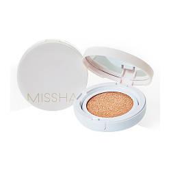 Стійка тональна основа кушон Missha Magic cushion Cover Lasting SPF50 + / PA +++ №21