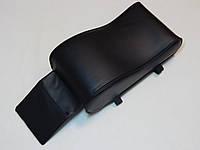 Підлокітник для салону автомобіля ZIRY штучна шкіра, чорний, фото 1