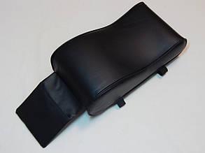 Підлокітник для салону автомобіля ZIRY штучна шкіра, чорний