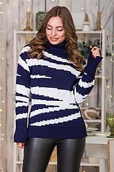 Теплый вязаный свитер «Тирамису»