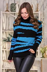 Вязаный свитер «Тирамису»