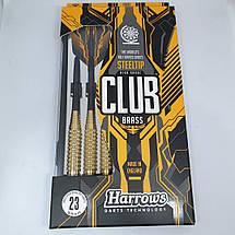 Дротики дартс Club brass Harrows с футляром, фото 3