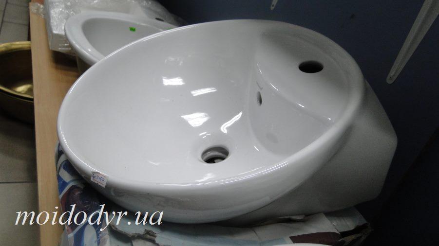 Умывальник накладной керамический круглый Sonet Niki 44