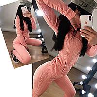 Женский стильный костюм из 3D трикотажа Герда в расцветках, фото 1