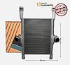Интеркулер Iveco Stralis 41214448, PERFEKT COOLING 702IV444800