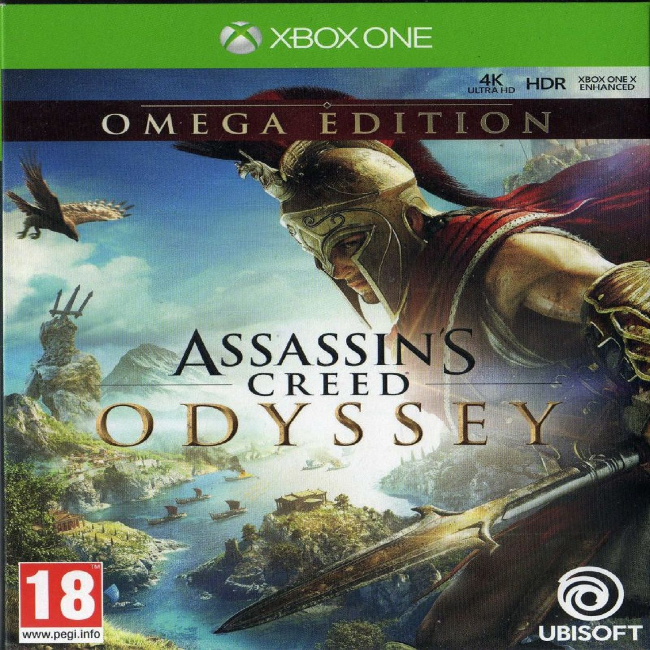 Assassin's Creed Odyssey Omega Edition RUS XBOX ONE (NEW)
