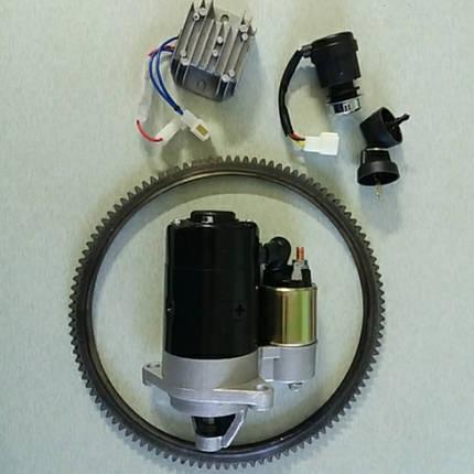 Набор для переоборудования мотоблока на электростартер начальный 178f, фото 2