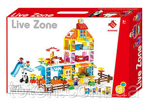 Конструктор для малюків LIVE ZONE 55011 Smoneo 146 великих дет (20) 1615