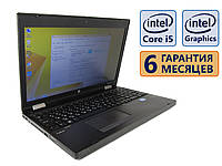 Ноутбук HP Probook 6570b 15.6 (1366x768) / Intel Core i5-3210M (2x max3.1GHz) / RAM 4Gb / SSD 120Gb / АКБ 40wh. / Сост. 9 из 10 БУ