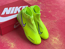 Футзалки лимонные Nike Phantom Vision Academy Dynamic Fit IC футбольная обувь, фото 2
