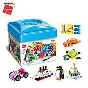 Конструктор Qman «Универсальный набор для детского творчества» Build and Learn 460 деталей 2901 3+