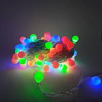 Новогодняя гирлянда 28 LED  Мульти шарик 4 метра, фото 1