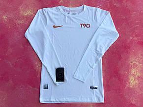 Термо-кофта чоловіча біла Nike Pro Combat Core Compression термобілизна для тренувань, фото 2