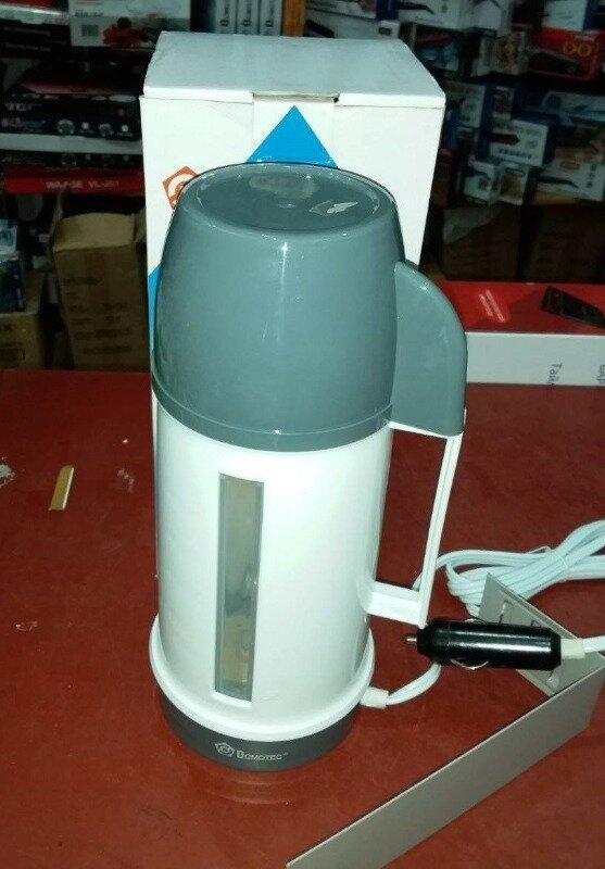 Автомобільний електрочайник Domotec MS-0823 0.5 л, 2 чашки 12V
