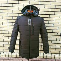 Мужские зимние куртки с мехом интернет магазин большие размеры . Цвет Хаки