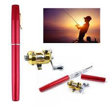 Мини удочка для рыбалки Pocket Fishing Rod + катушка