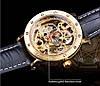 Механические часы с автоподзаводом Forsining Skeleton (gold), фото 4