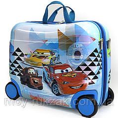 Детский чемодан -каталка на 4 колесах Тачки, Cars 520287