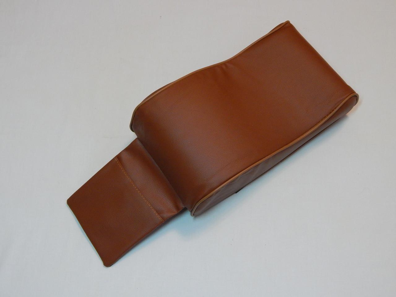 Підлокітник для салону автомобіля ZIRY штучна шкіра, коричневий