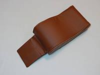 Підлокітник для салону автомобіля ZIRY штучна шкіра, коричневий, фото 1