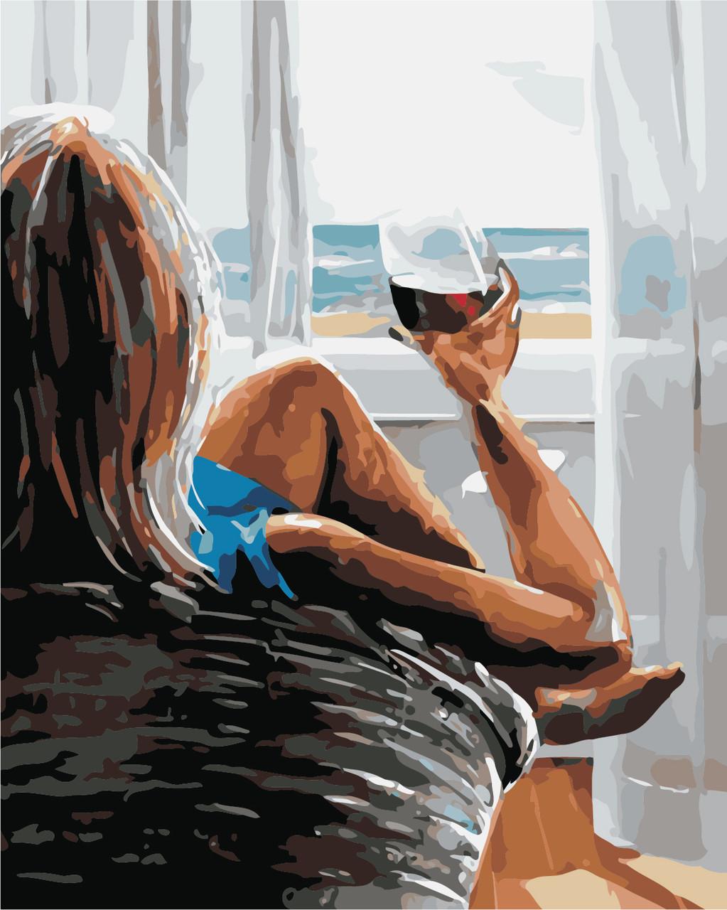 Художественный творческий набор, картина по номерам Наслаждение, 40x50 см, «Art Story» (AS0433)